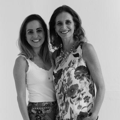 Carolina Vilarino e Simone Lescher Fagundes